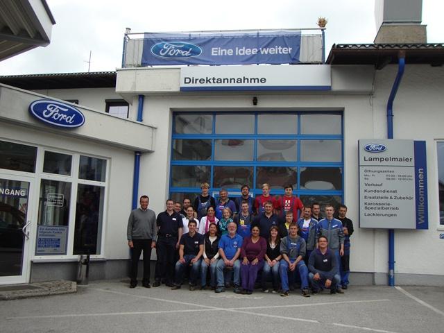 Das Team von Ford Lampelmaier